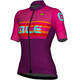 Alé Cycling R-EV1 Summer Short Sleeve Jersey Women purple-fluo magenta